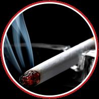 >запах табака и сигаретного дыма